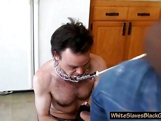 guy pleases his ebony femdom girlfriend