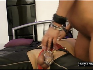 Fucked in Chastity