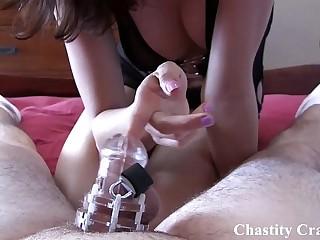 Locked in permenant chastity by Sadie
