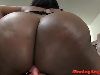 Black bigbooty femdom queens white male slut
