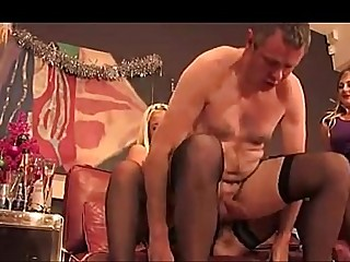 3A- THE NAUGHTY FEMDOM PARTY -3A ukmike video