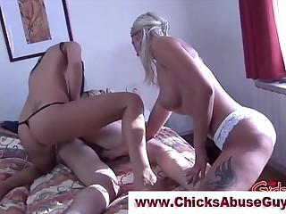 Nasty femdom bitches