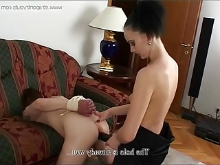 Russian mistress and her little slave