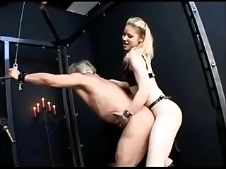 Mistress and her bottom bitch
