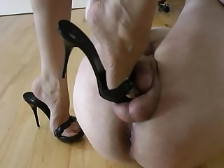 Bound And Tortured Shoeslave