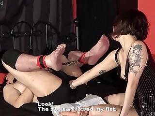 Smoking Mistress Femdom Anal Fisting