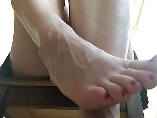 Amazing FOOT slave POV ASMR. Erotic voice of Mistress HotwifeVenus
