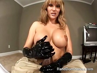 Fetish mistress hands play