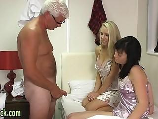 Cfnm mistress blowing