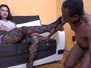MISTRESS MIRA - FOOT SLAVE TRAINING