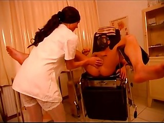 Hot mistress humiliating her slave