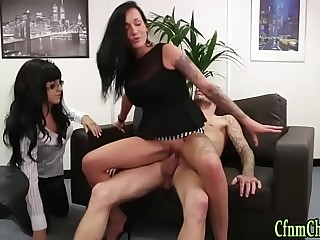 Cfnm brit mistress riding