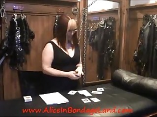 You Bet Your Dick Chastity Card Game FemDom Mistress