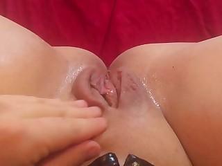 Hypno ASMR Mistress Masturbates - You Watch, Foot Worship
