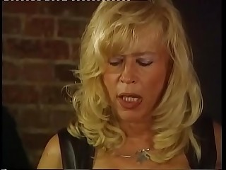 Mature mistress fucked by her young slave
