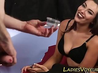 Mistress in stockings