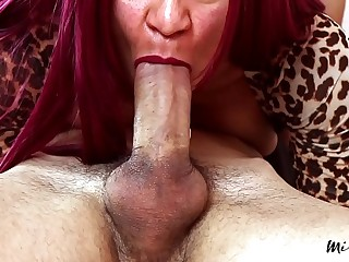 MissFluo - edging job & throbbing oral A38