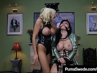 Femdom Amazon Puma Swede Fucks Slave Anastasia Pierce!