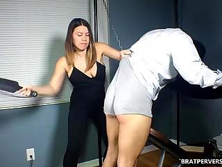 Spank Fetish Femdom Humiliation spanking