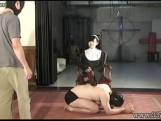 Japanese Femdom Prostate Massage Bound Slave